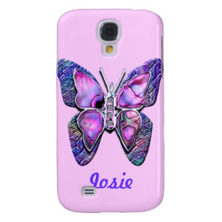 Customize HTC Vivid Phone 5 case  Butterfly purple