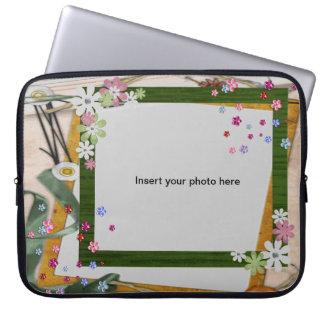 customize insert photo laptop sleeve