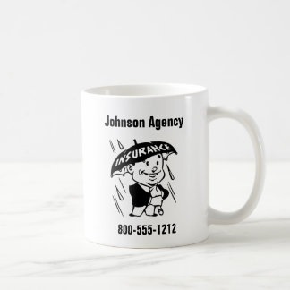 Customize Insurance Agent or Agency 2 Side Coffee Mug