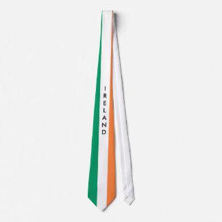 Customize Ireland flag tie