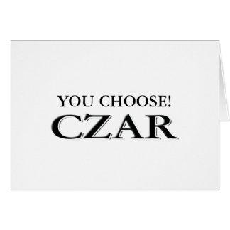 Customize It! Card