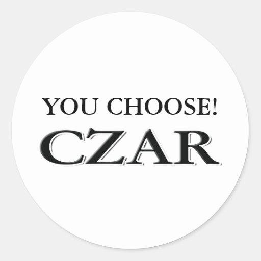 Customize It! Classic Round Sticker