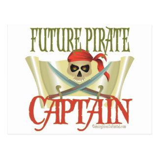 CUSTOMIZE IT! Future Pirate Postcard