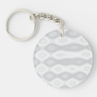 Customize It! Single-Sided Round Acrylic Keychain