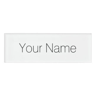 Customize It! Name Tag