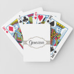 Customize It! Nameplate Bicycle Playing Cards