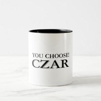 Customize It! Two-Tone Coffee Mug