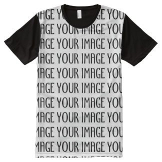 Customize it with Your photo All-Over Print T-shirt