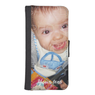 Customize it: Your photo + text iPhone 5/5s iPhone 5 Wallets