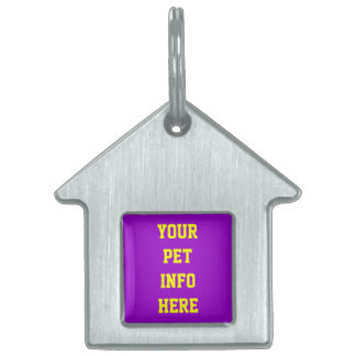 CUSTOMIZE IT YOURSELF PET ID TAG