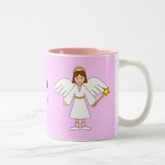 Customize Me -- Children s Nativity Angel Mug