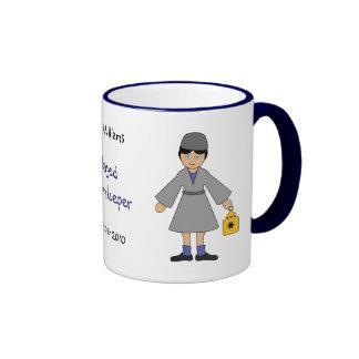 Customize Me -- Children s Nativity Innkeeper Mugs
