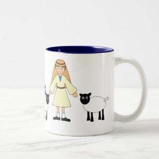 Customize Me -- Children s Nativity Shepherd Boy Mug