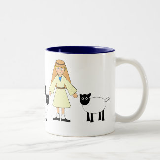 Customize Me -- Children s Nativity Shepherd Boy Coffee Mug