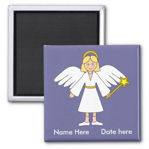Customize Me -- Children's Nativity Angel Magnet