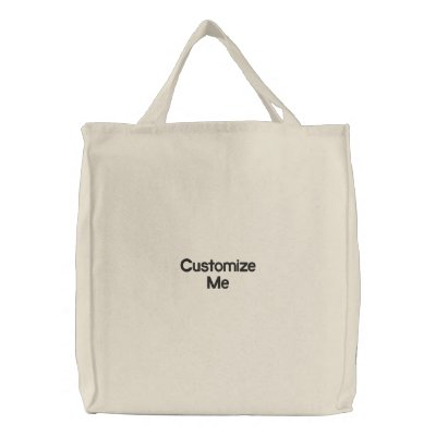 Customize Me Embroidered Bag