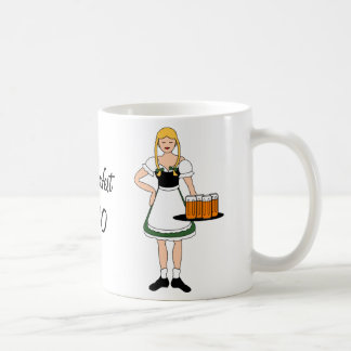 Customize Me -- Oktoberfest Girls Classic White Coffee Mug