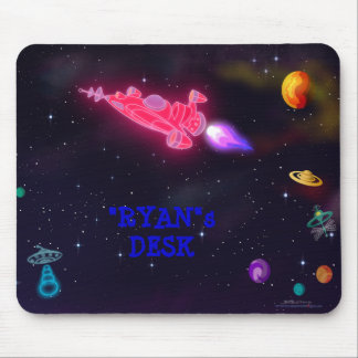 customize me Outer Space Mouse Pads