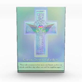 Customize | Memorial | Cross Acrylic Award