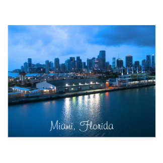 Customize Miami photo Postcard