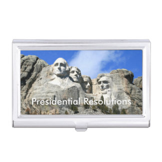 Customize Mount Rushmore National Memorial photo Case For Business Cards