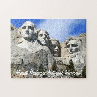 Customize Mount Rushmore National Memorial photo Jigsaw Puzzles