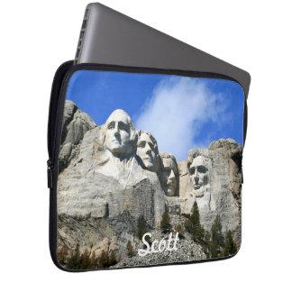 Customize Mount Rushmore National Memorial photo Laptop Sleeve