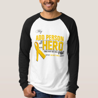 Customize MY HERO:  Childhood Cancer T-Shirt