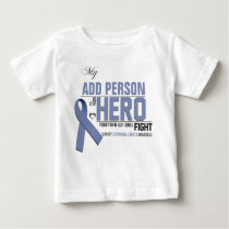 Customize MY HERO:  Esophageal Cancer Baby T-Shirt