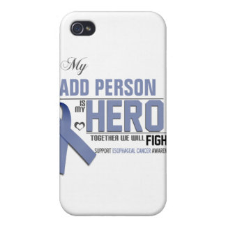 Customize MY HERO:  Esophageal Cancer Covers For iPhone 4