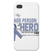 Customize MY HERO:  Esophageal Cancer iPhone 4 Cover