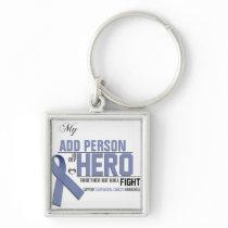 Customize MY HERO:  Esophageal Cancer Keychain