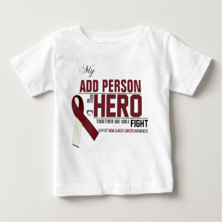 Customize MY HERO:  Head & Neck Cancer Baby T-Shirt
