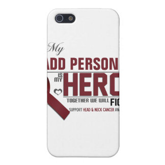 Customize MY HERO:  Head & Neck Cancer Cover For iPhone SE/5/5s
