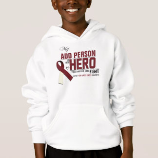 Customize MY HERO:  Head & Neck Cancer Hoodie