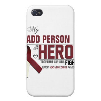 Customize MY HERO:  Head & Neck Cancer iPhone 4/4S Cover