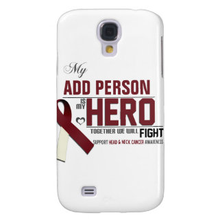 Customize MY HERO:  Head & Neck Cancer Samsung Galaxy S4 Case