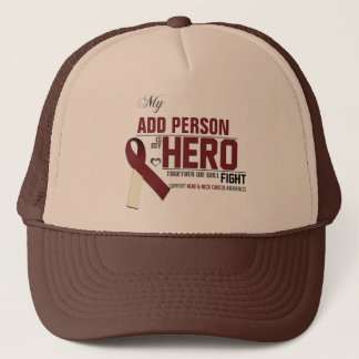 Customize MY HERO:  Head & Neck Cancer Trucker Hat