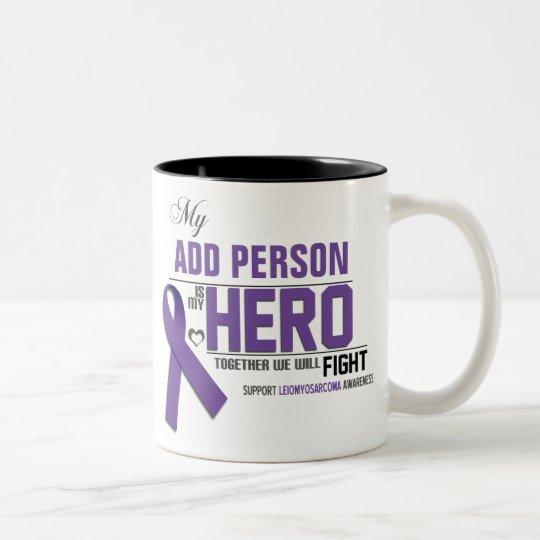 Customize MY HERO: Leiomyosarcoma Two-Tone Coffee Mug