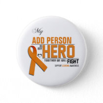 Customize MY HERO:  Leukemia Button