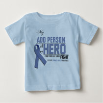 Customize MY HERO:  Stomach Cancer Baby T-Shirt