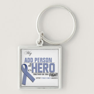 Customize MY HERO:  Stomach Cancer Keychain