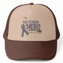 Customize MY HERO:  Stomach Cancer Trucker Hat