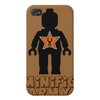 Customize My Minifig Army Man iPhone 4/4S Case