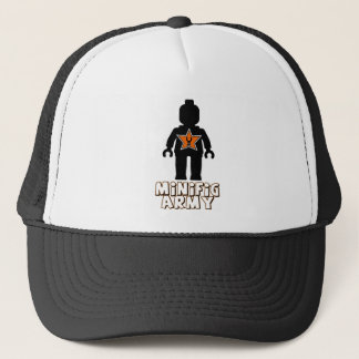 Customize My Minifig Army Man Trucker Hat