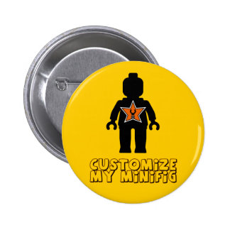 Customize My Minifig Minifig Man Button