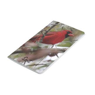 Customize Nice Cardinal photo Journals