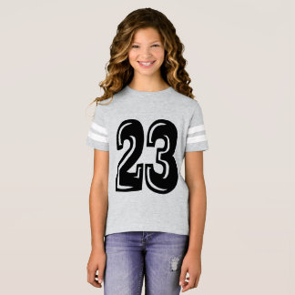 Customize Number 23 football soccer shirt design