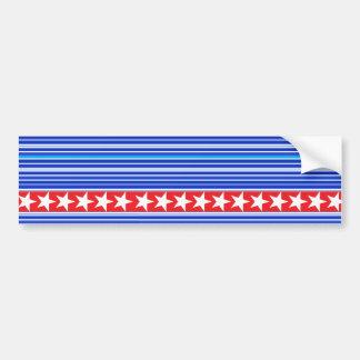Customize Patriotic Bumper Sticker