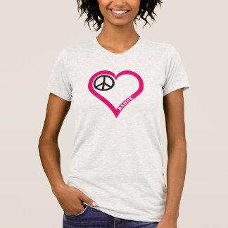 Customize Peace Love Dance Girls Shirts Hoodies